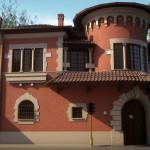 Villino rosso sito in villa Torlonia (RM)_1